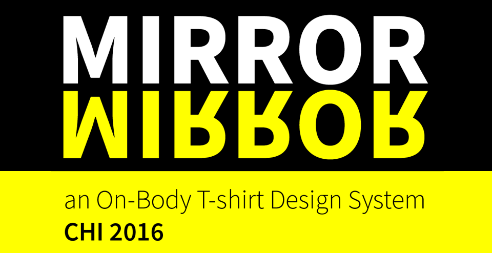 Mirror Mirror Accepted to CHI 2016