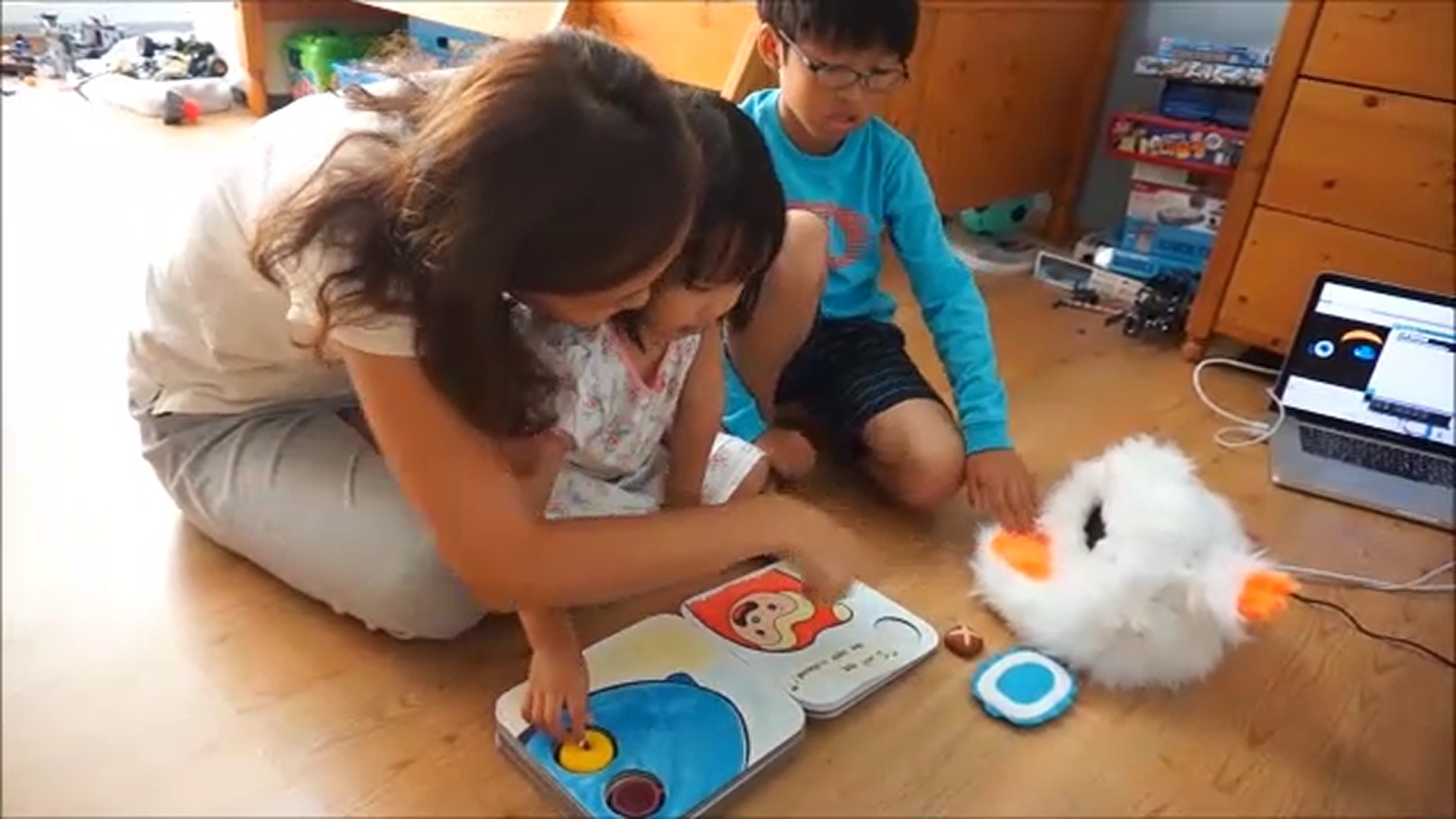 I-Eng: An Interactive Toy for Second Language Learning